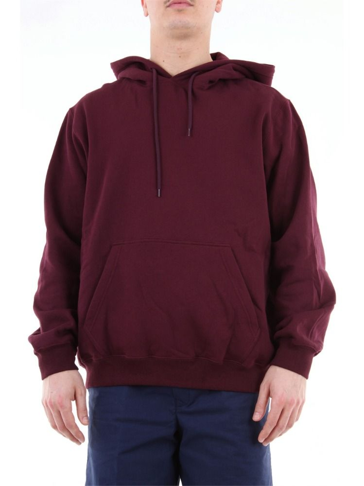 MSGM BORDEAUXROT SWEATSHIRT