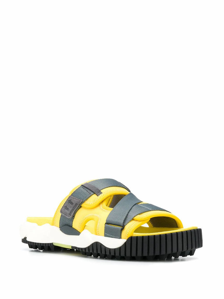 OFF-WHITE GELB SANDALEN