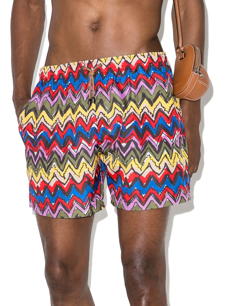 MISSONI MULTICOLOUR BADEBOXER
