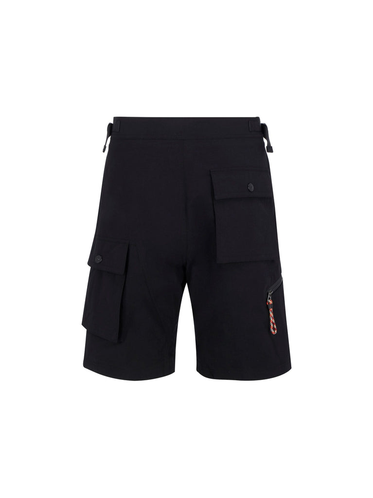 BURBERRY SCHWARZ SHORTS