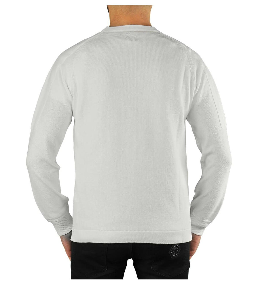 CP COMPANY WEISS SWEATER