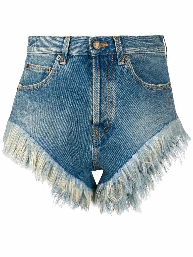 SAINT LAURENT BLAU SHORTS