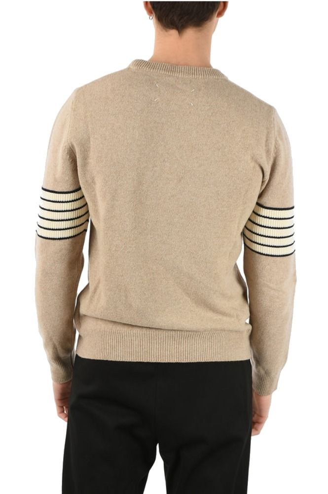 MAISON MARGIELA BEIGE SWEATER