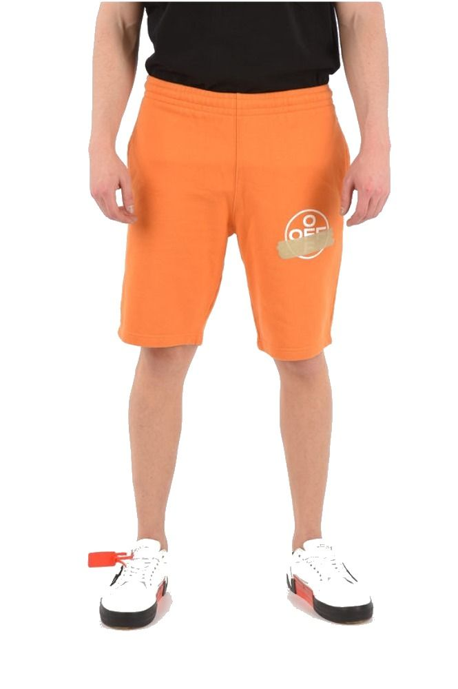 OFF-WHITE ORANGE SHORTS