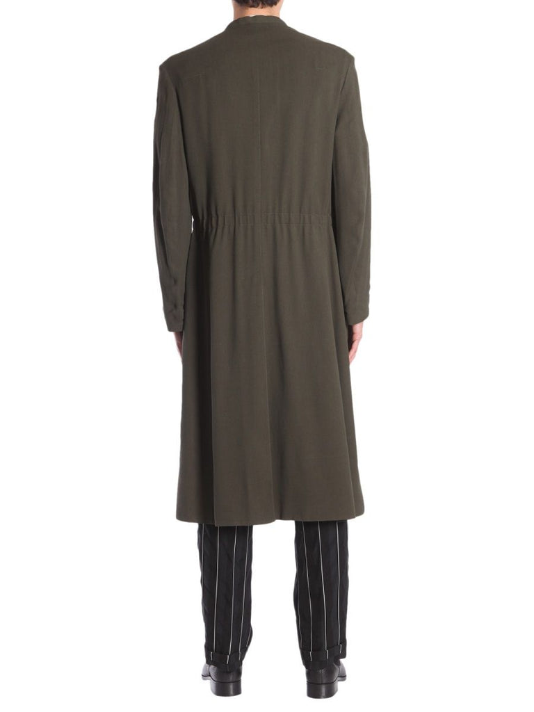 HAIDER ACKERMANN GRÜN TRENCH COAT