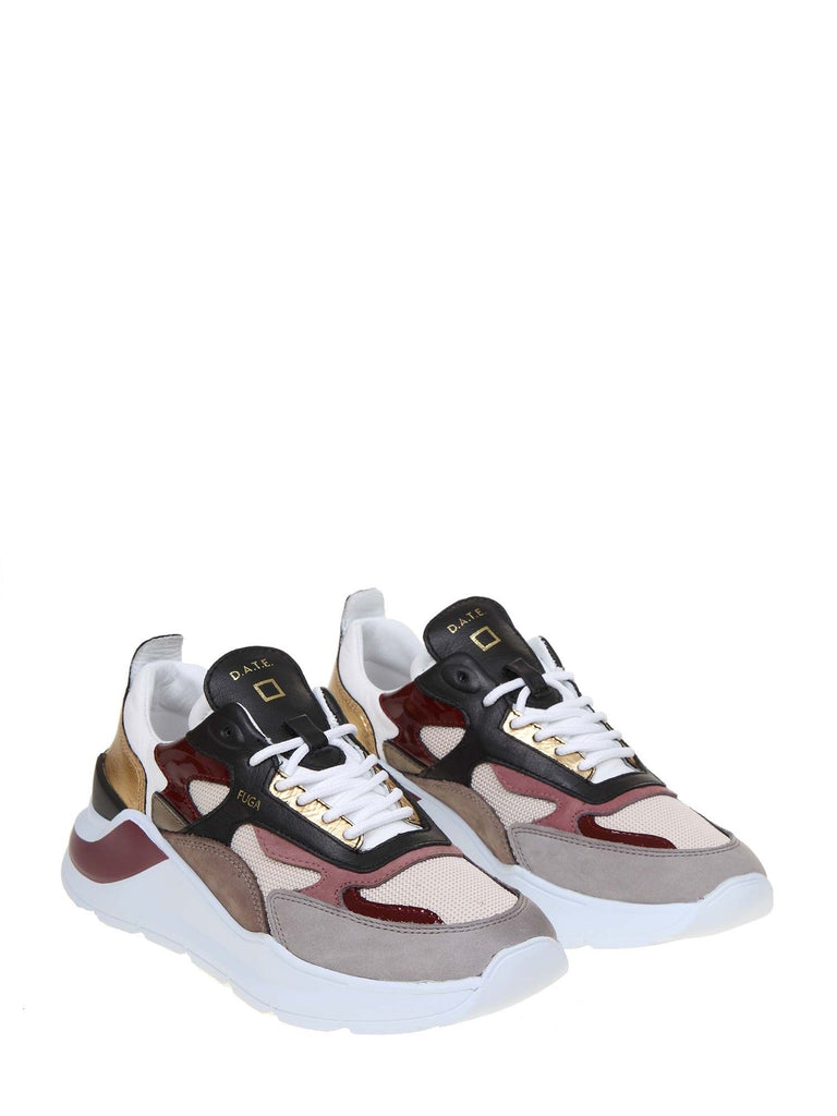 D.A.T.E. MULTICOLOUR SNEAKERS