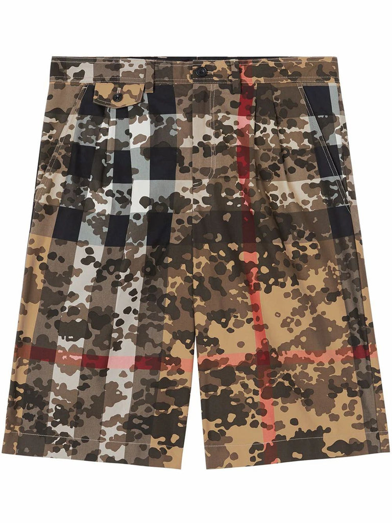 BURBERRY GRÜN SHORTS