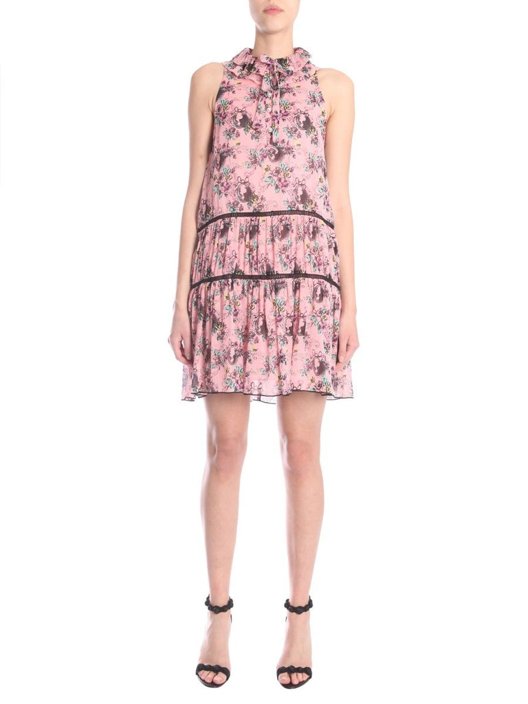 BOUTIQUE MOSCHINO ROSA KLEID