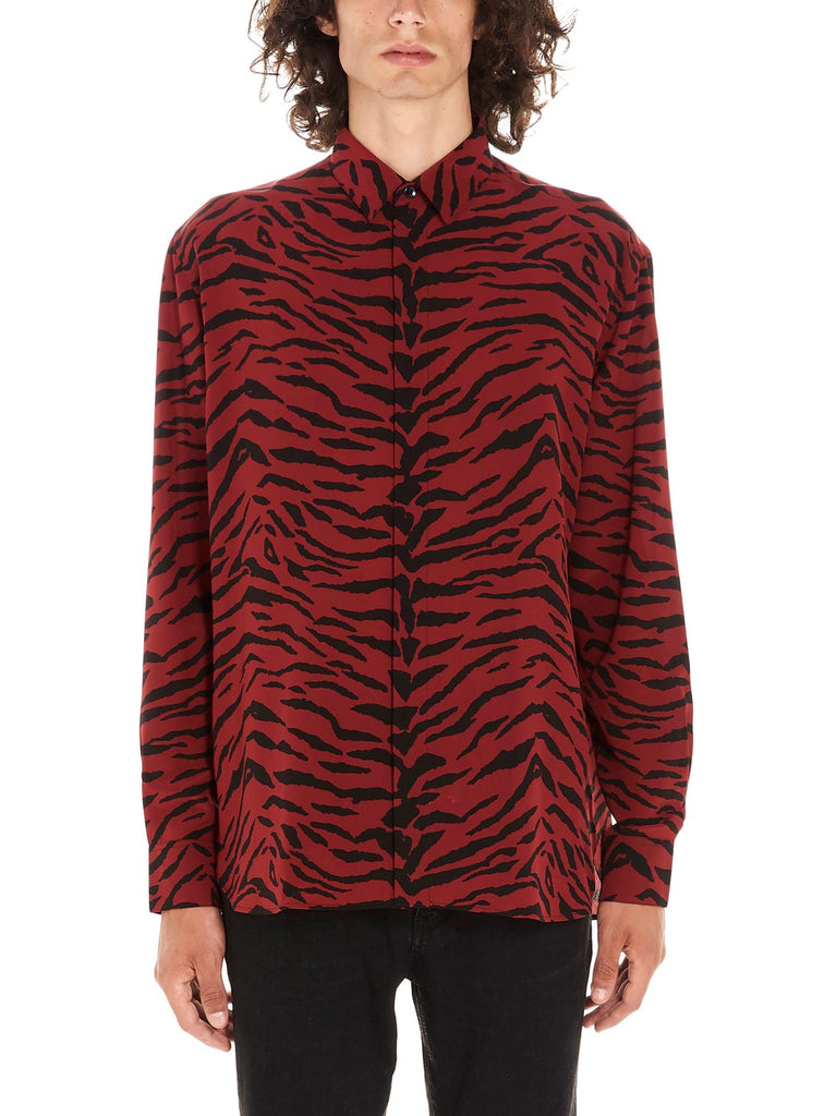 SAINT LAURENT ROT HEMD