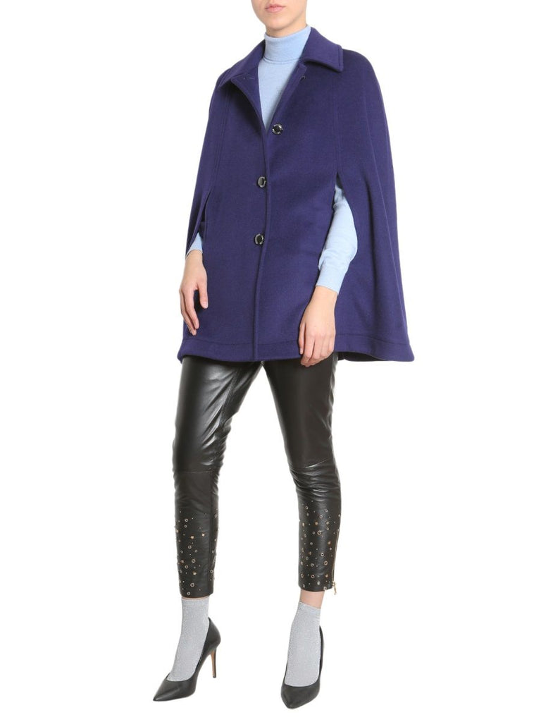 BOUTIQUE MOSCHINO BLAU TRENCH COAT