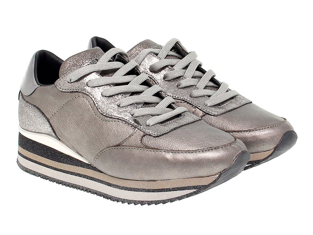 CRIME LONDON BRONZE SNEAKERS