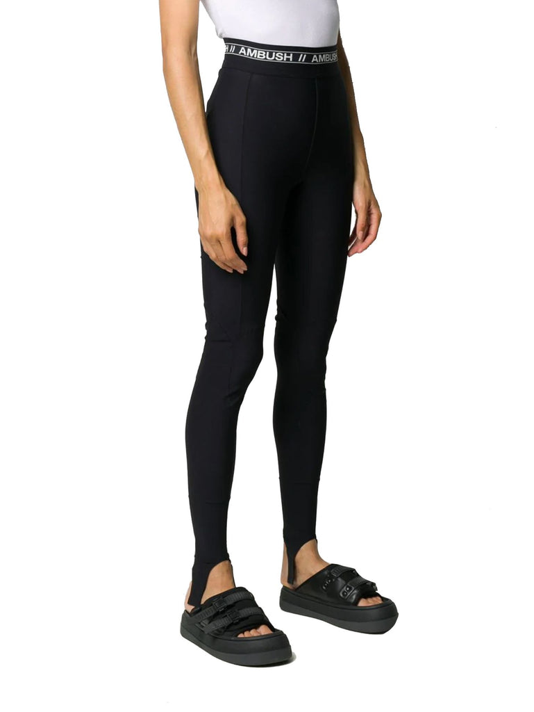 AMBUSH® SCHWARZ LEGGINGS
