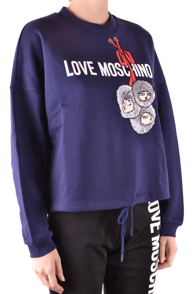 LOVE MOSCHINO BLAU SWEATSHIRT