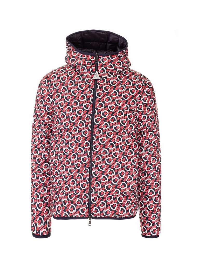 MONCLER MULTICOLOUR STEPPJACKE