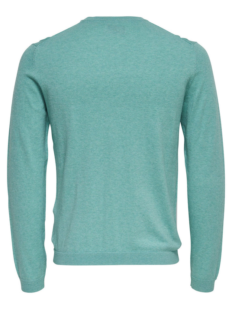 ONLY & SONS HELLBLAU SWEATER