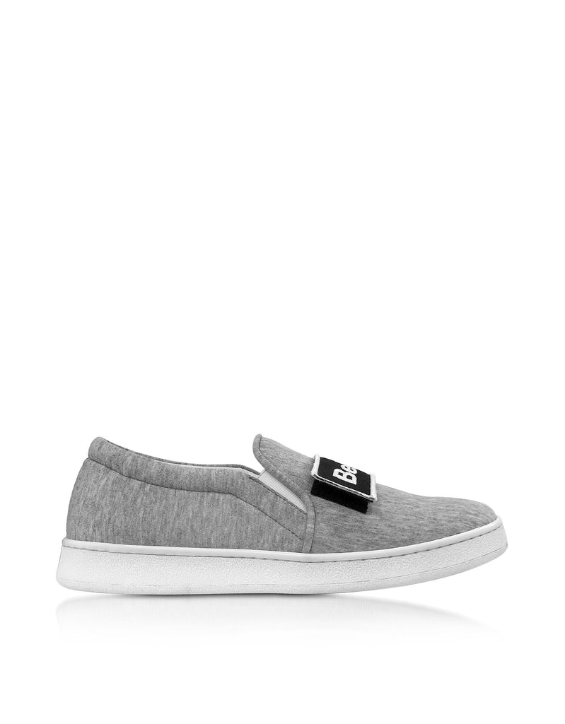 JOSHUA SANDERS GRAU SLIP ON SNEAKERS