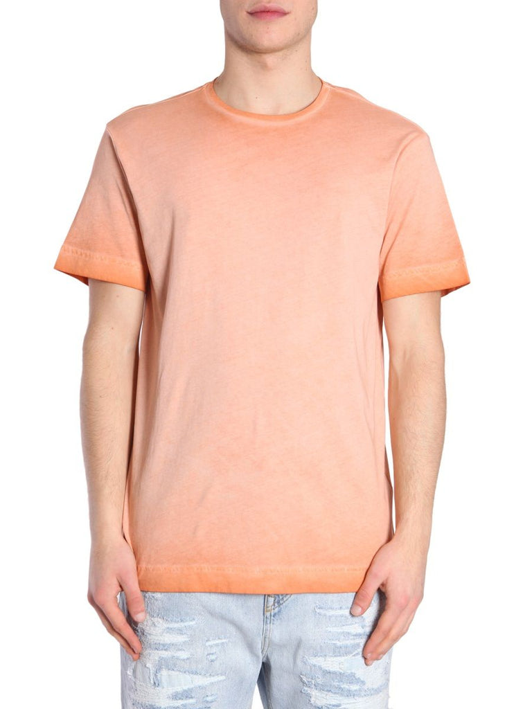 DIESEL BLACK GOLD ORANGE T-SHIRT