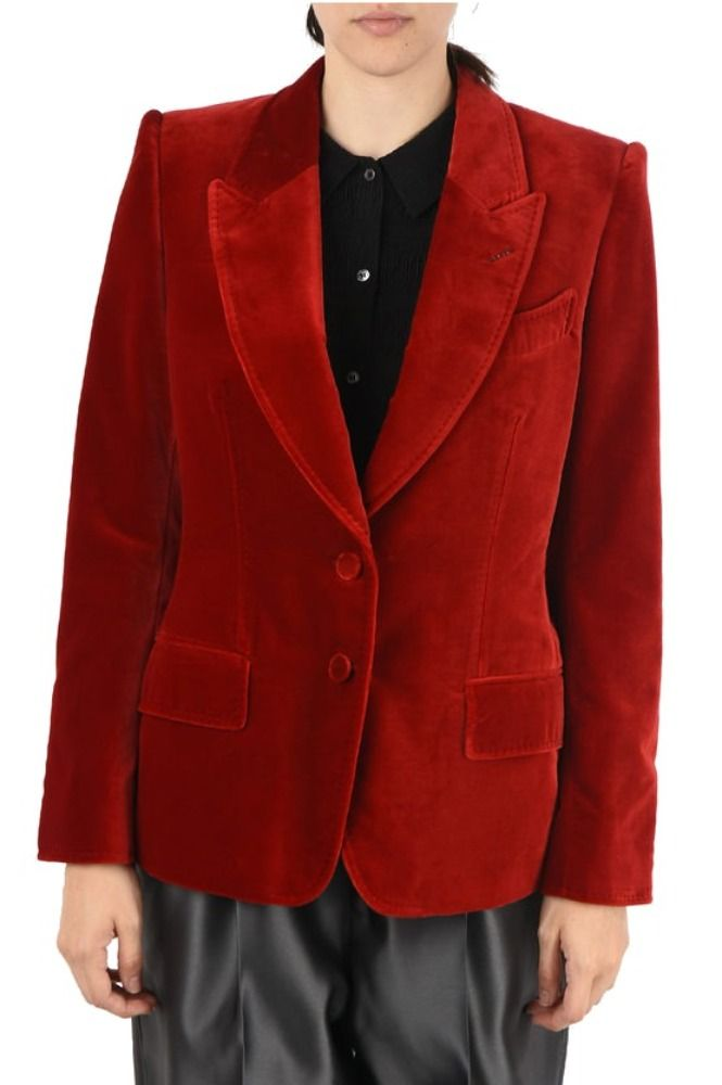 TOM FORD BORDEAUXROT BLAZER