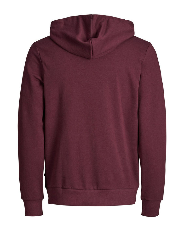JACK & JONES BORDEAUXROT SWEATSHIRT