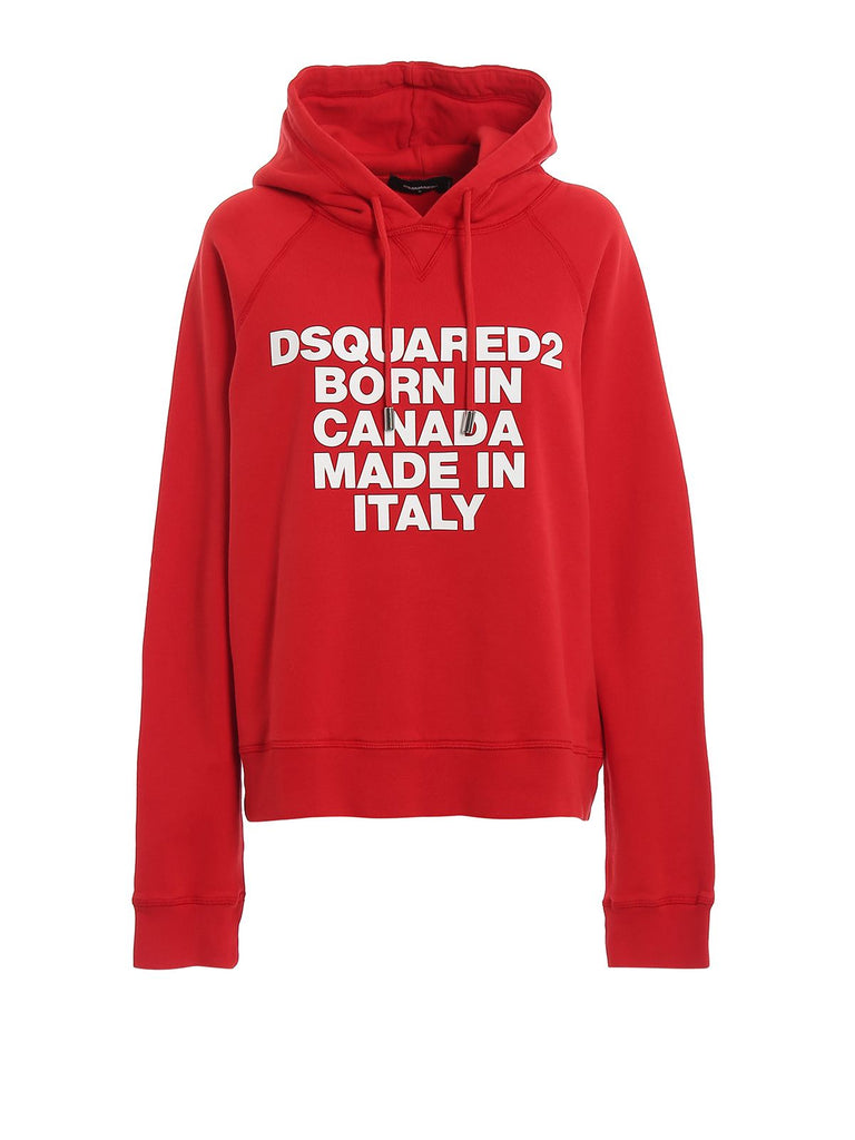 DSQUARED2 ROT SWEATSHIRT