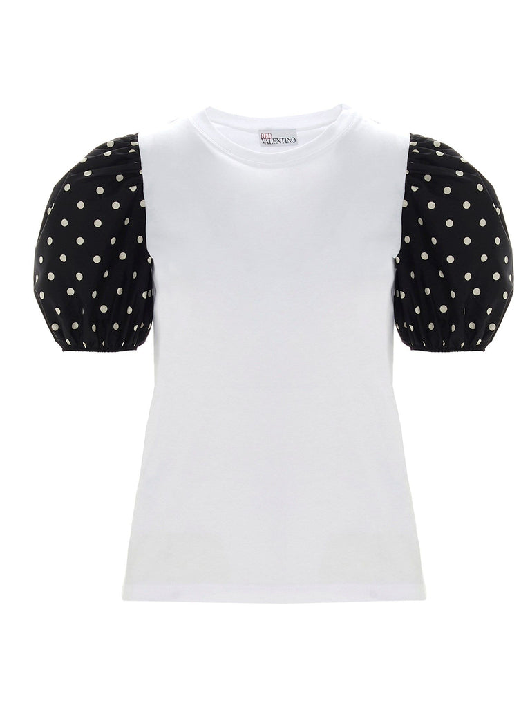RED VALENTINO WEISS T-SHIRT