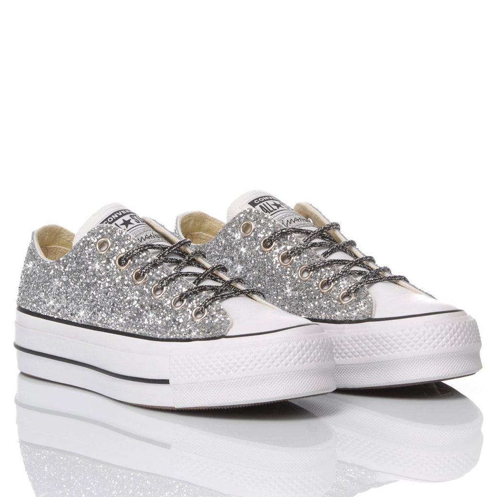 CONVERSE SILBER SNEAKERS