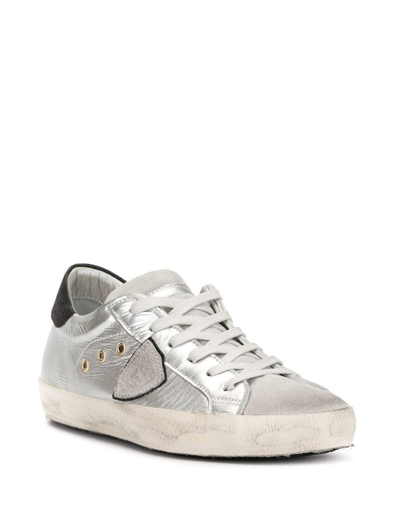 PHILIPPE MODEL SILBER SNEAKERS
