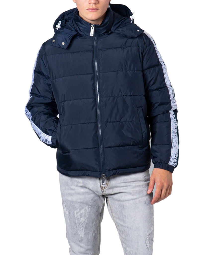 ARMANI EXCHANGE BLAU STEPPJACKE