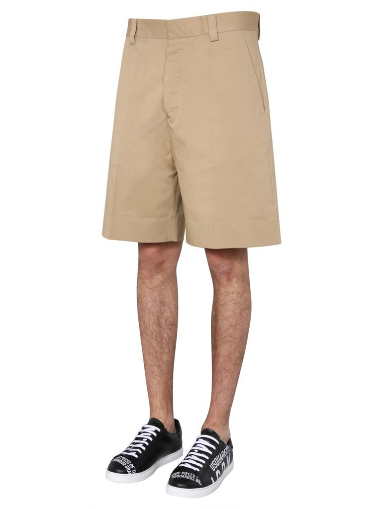 DSQUARED2 BEIGE SHORTS