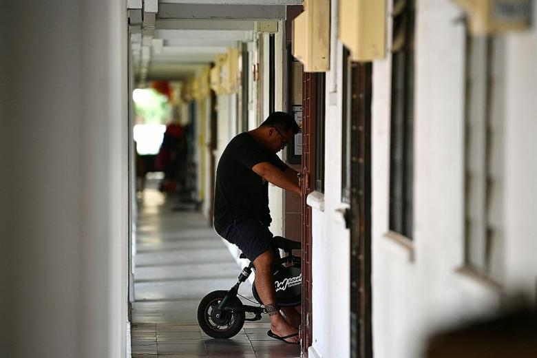 Ban for PMDS to ride in HDB void decks