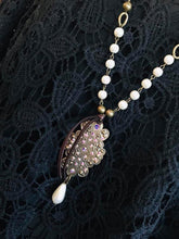 Load image into Gallery viewer, PEARLTIQUE VINTAGE NECKLACE