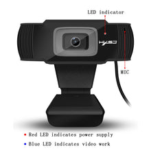 Load image into Gallery viewer, 1080P HD Webcam  With Microphone & Auto Focus