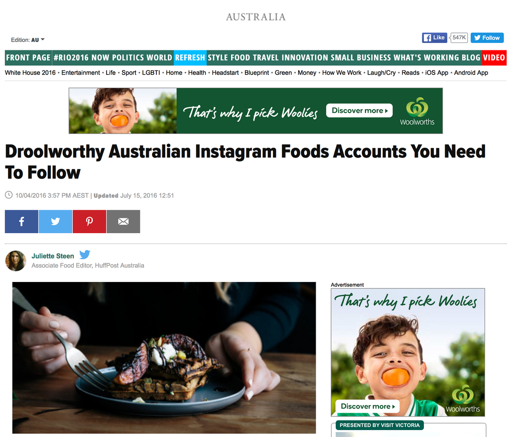 Huff Post Mention
