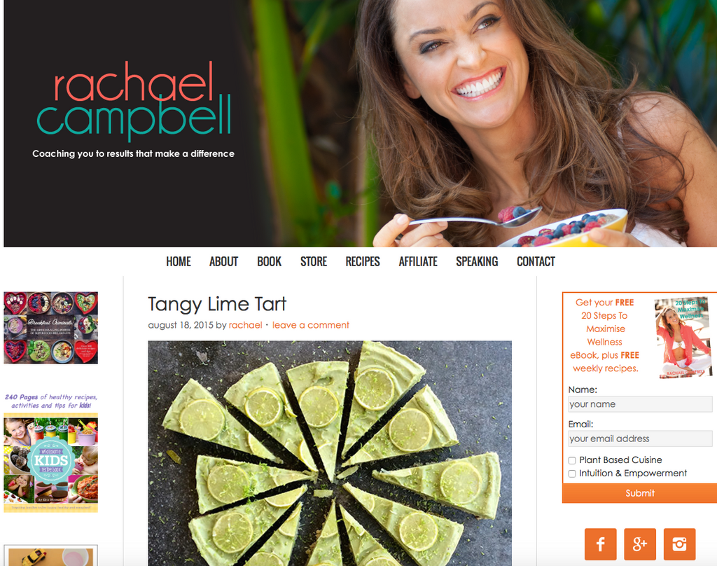 Raw Food Share with Rachael Campbell