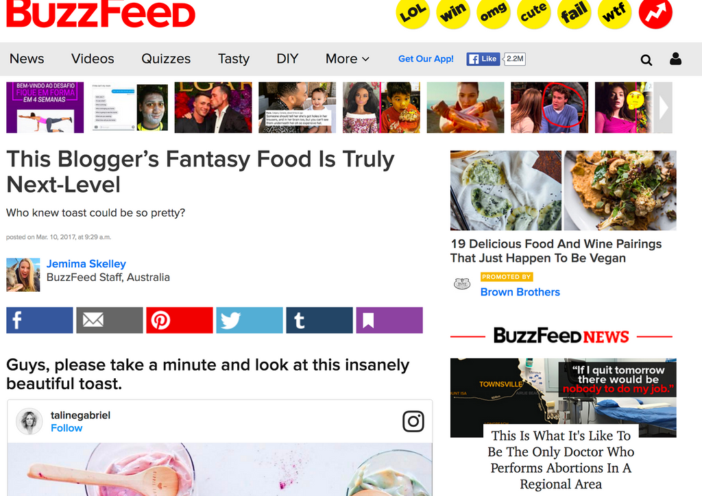 The Fantasy Attraction - Buzz Feed Story