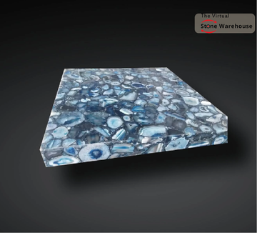 BLUE AGATE TABLE