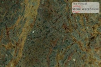 GOLDEN LIGHTING GREEN GRANITE