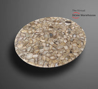 BROWN AGATE TABLETOP-The Virtual Stone Warehouse