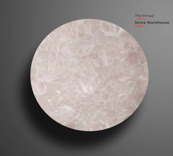 ROSE QUARTZ TABLETOP-The Virtual Stone Warehouse