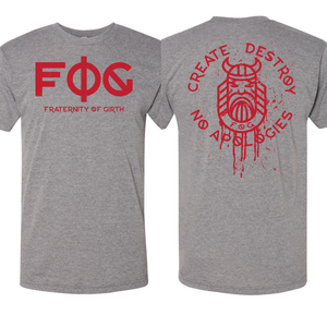 "BATTLE FOG ""RED MIST"" UNISEX T"