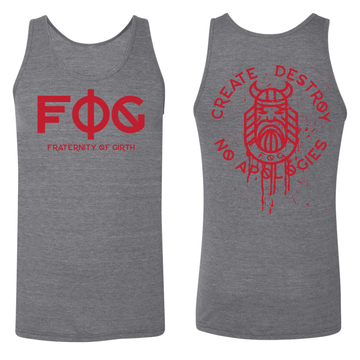 "BATTLE FOG ""RED MIST"" MUSCLE TANK"