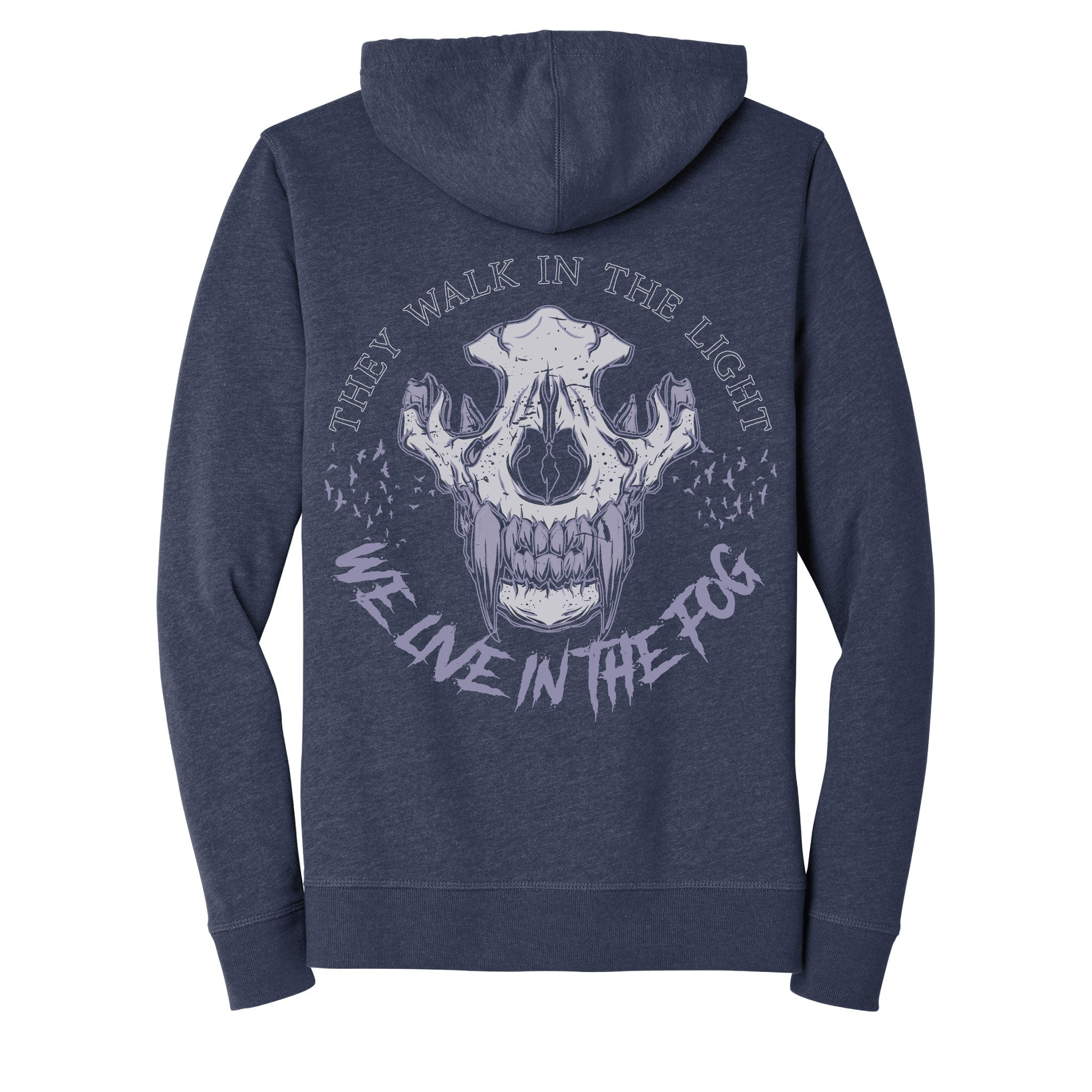 WE LIVE IN THE FOG Hoodie