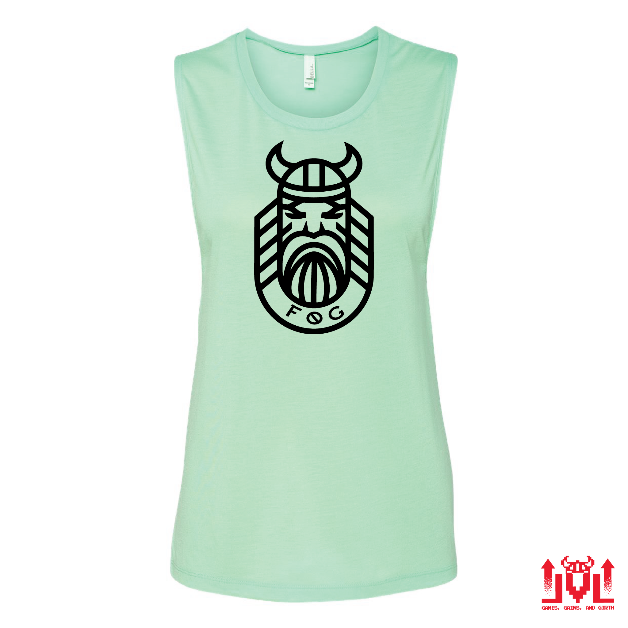 RETRO Mint Ladies Tank