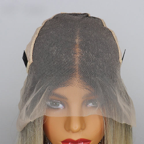 Straight Lace Wig 13X6 Lace Front Wig Fake Scalp Wig Best Virgin Human hair