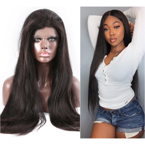 ROSABEAUTY Long Lace Front Wig (26 - 34 INCHES)
