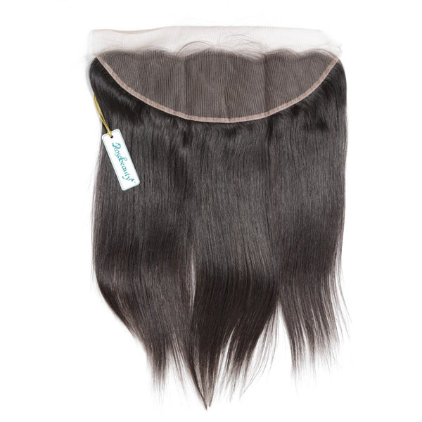 7A 4 Bundles Brazilian Hair With Frontal Straight