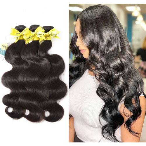 Rosabeauty 7A Hair Weave Brazilian Hair Body Wave 5 Bundles