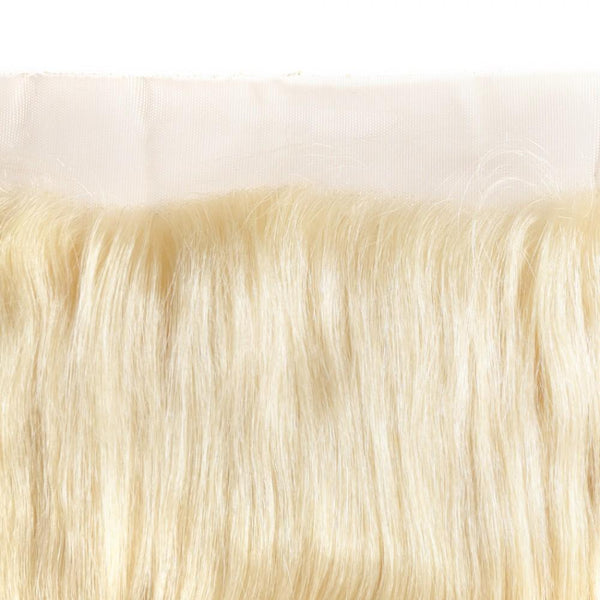 #613 Blonde 13x4 Lace Frontal Natural Straight