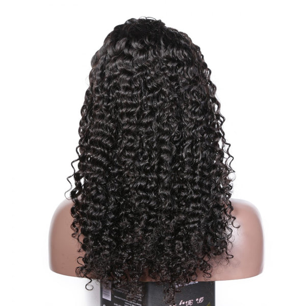 180% Deep Wave 360 Lace Frontal Wigs Pre-plucked Human Hair Wig