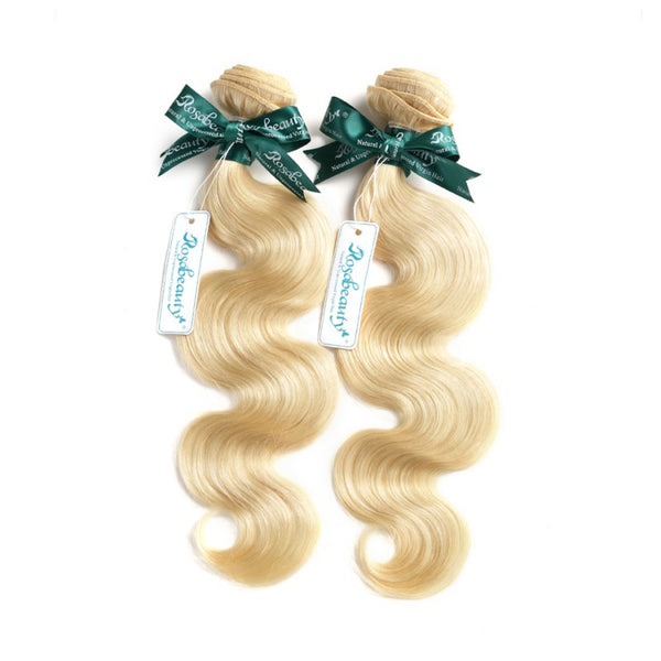 8A #613 Blonde Body Wave Hair Bundles  1-3 Bundles